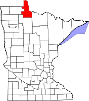 180px-Map_of_Minnesota_highlighting_Lake_of_the_Woods_County.svg