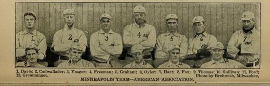 1907 Spalding Guide - Hart - MPLS team