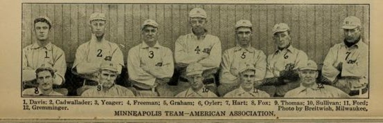 1907 Spalding Guide - Hart - MPLS team