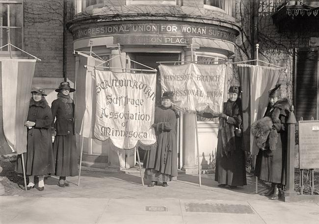 Headquarters-Minnesota-Suffrage-Group